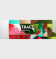 abstract background geometric composition vector image