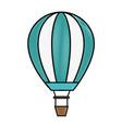 air balloon icon vector image vector image