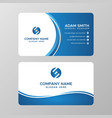 business card template images vector image vector image