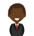 businessman male man icon vector image