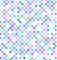 Colorful abstract polka dot pattern design vector image vector image