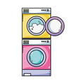 electronic washing machine and dryer to clean
