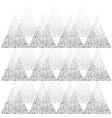 geometric abstract triangle dot splash pattern vector image