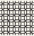 monochrome minimalistic seamless pattern vector image