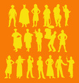 people 1 vector image vector image