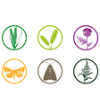 plant weed icon vector image