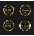 Premium Brand labels vector image vector image