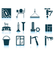 Set of construction icons vector image vector image