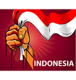 Spirit of Indonesia vector image vector image