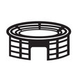 stadium icon vector image
