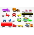 trucks set vector image vector image