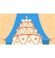 Wedding Cake vector image vector image