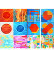 All background Art colorful vector image