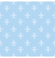 Blue seamless aircraft art background vector image vector image