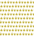 Crown seamless pattern2 vector image