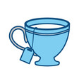 cup hot drink vector image vector image