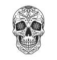 day dead sugar skull vector image vector image