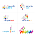 Design elements Icons set vector image vector image