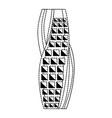 dubai skyscraper tower vector image vector image