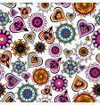 funky design elements background vector image