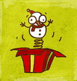 Jack in the Box Cartoon vector image