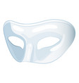 mask icon face cover for secret or decoration vector image vector image