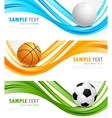Set of sport banners vector | Price: 1 Credit (USD $1)