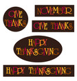 thanksgiving typography clipart graphics vector image