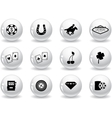 Web buttons las vegas icons vector | Price: 1 Credit (USD $1)