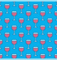wine glass colorful pattern vector image vector image