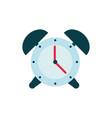alarm clock time education school icon design vector image