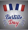 bastille day design vector image