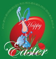easter hot1 vector image vector image