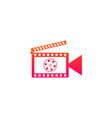 film logo vector image vector image