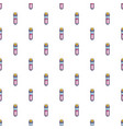 magic glass tube love potion pattern seamless vector image vector image