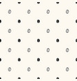 seamless geometric pattern with hand drawn vector image vector image