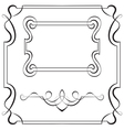 Set frames for design vector image vector image