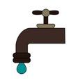 tap water vector image vector image