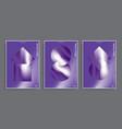 vibrant gradient backgrounds vector image