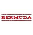 Bermuda Watermark Stamp vector image vector image