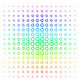 cooperation shape halftone spectral pattern vector image vector image