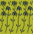 Floral seamless pattern background stylized