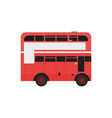 london bus urban city transport vector image