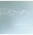 Modernistic abstract dot tech background vector image
