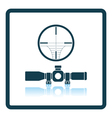 Scope icon vector image vector image