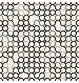 Seamless Black and White Circles Irregular vector image vector image