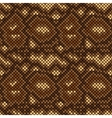snake skin seamless pattern vector image vector image
