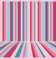 stripes room background texture valentaine day vector image