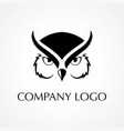symbol of an owl vector image