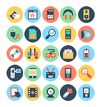 Technology and Hardware Icons 2 vector image